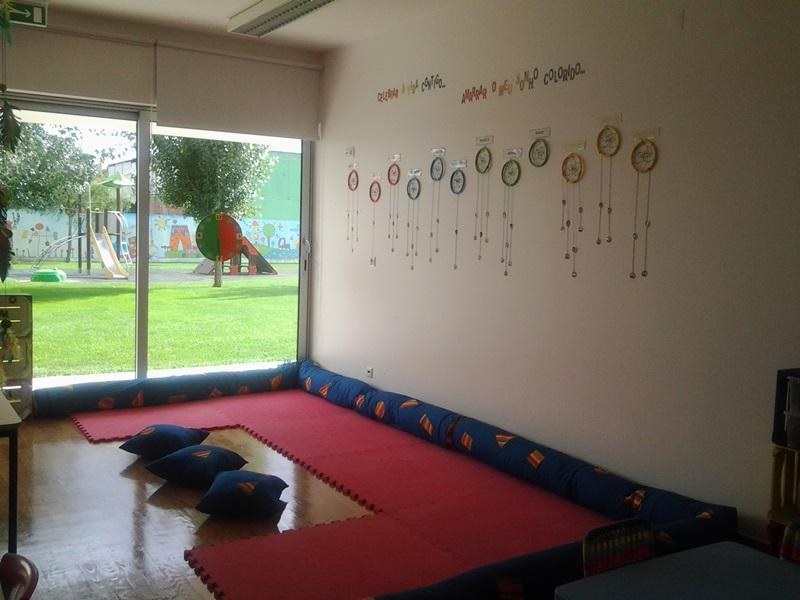 Jardim do Fraldinhas | O nosso tapete, onde iniciamos o nosso dia