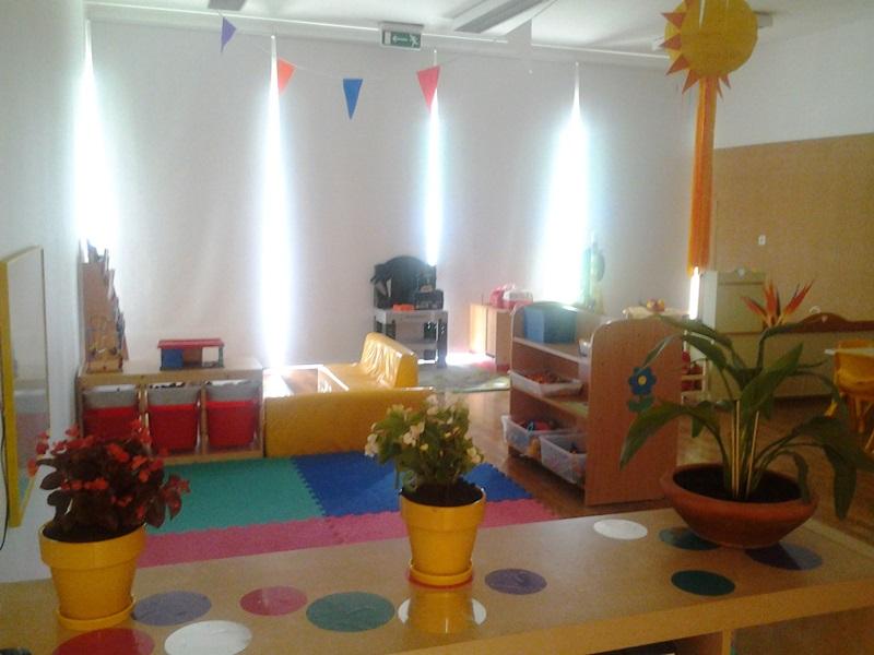 Jardim do Fraldinhas | A nossa sala com diferentes áreas