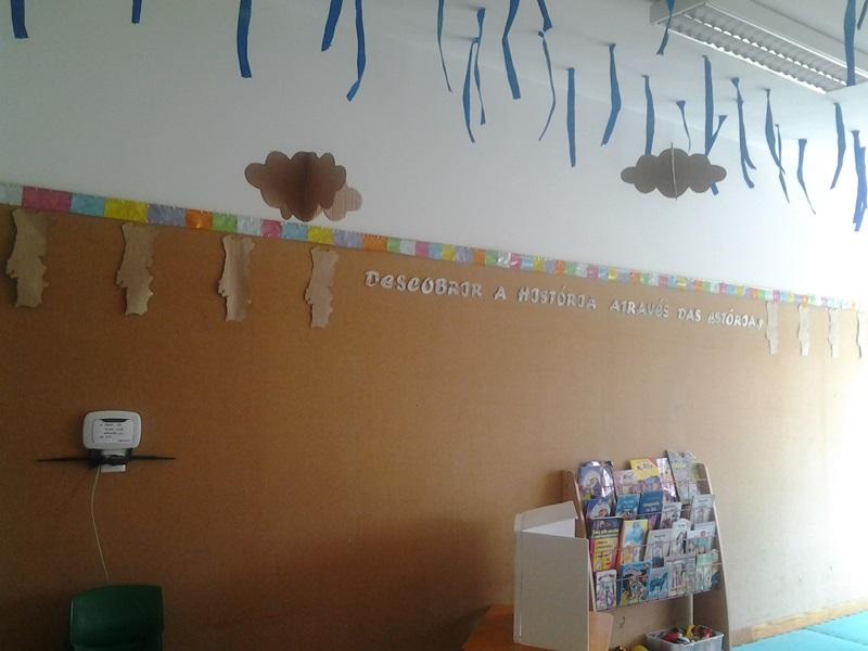 Jardim do Fraldinhas | OS meninos de 3 anos da sala verde vão descobrir a história através das estórias